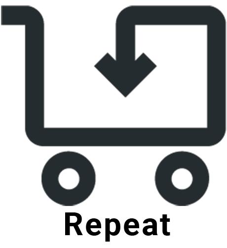Repeat company logo